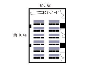 本町・センタービル1号室 レイアウト図