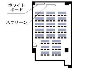 本町・大雅ビル 第1会議室見取り図