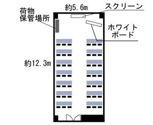 本町・カーニープレイス 7F見取り図