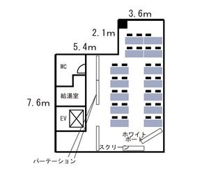 心斎橋・長堀橋クレディ9F レイアウト図