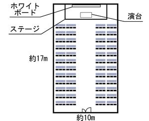 天六・マロニエホール 7F レイアウト図