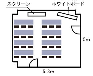 北堀江・プラティーバ レイアウト図