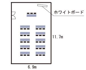 新大阪・キューホー江坂ビル 2F見取り図