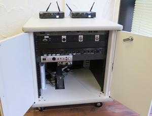 四ツ橋・サンワールドビル1号室 ハイグレード備品(音響設備)