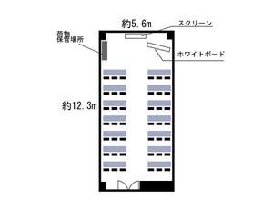 本町・カーニープレイス7F レイアウト図