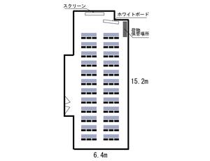 難波・日興ビルB2F レイアウト図