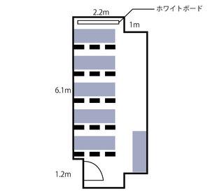 難波・日興ビル6F レイアウト図