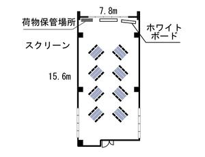 四ツ橋・近商ビル10A レイアウト図