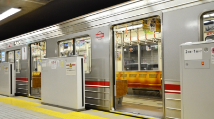 梅田からもすぐ、かつ3つの路線が繋がる主要駅!